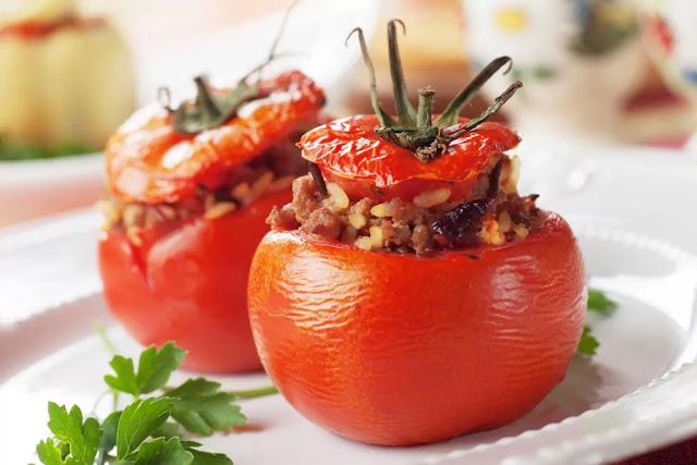 Stuffed Tomato Recipe in Hindi