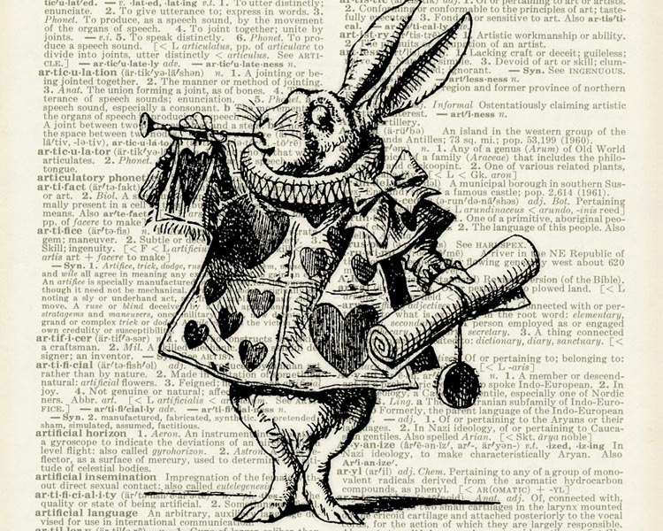 09-Alice-in-Wonderland-Jean-Cody-Vintage-Dictionary-Page-Art-Prints-www-designstack-co