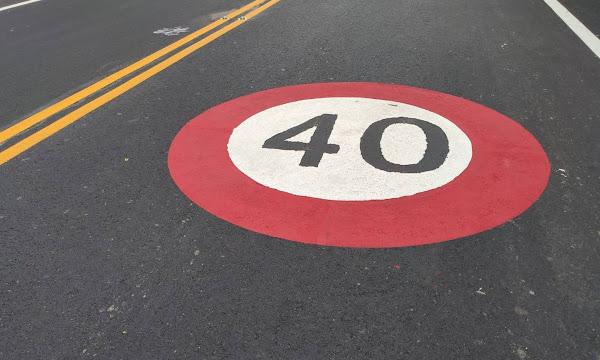 縣道139線速限調降 彰化警方提醒減速慢行