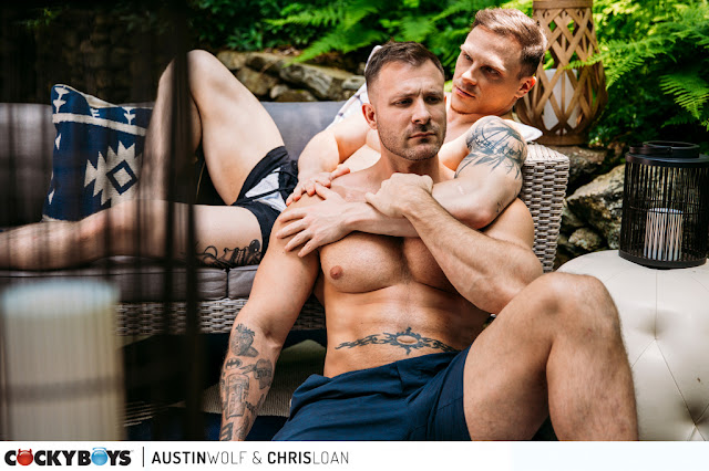 Cockyboys - Austin Wolf & Chris Loan