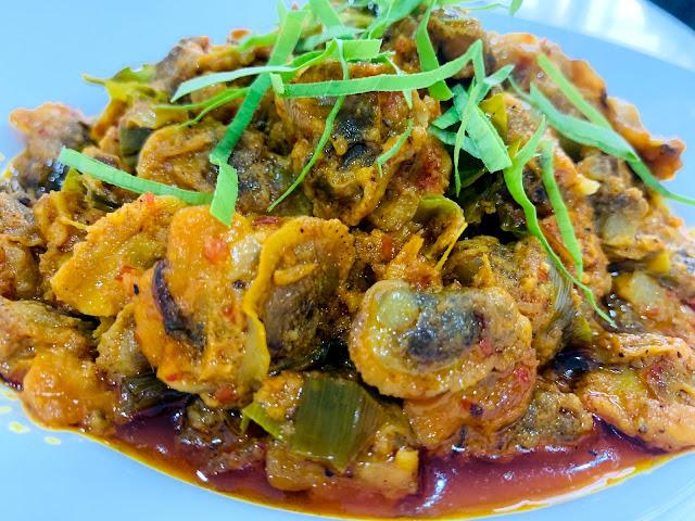 Resepi rendang kerang yang sangat sedap dan mudah