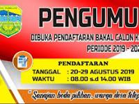 Download Contoh Spanduk Rangkaian Kegiatan Pilkades 2019 Format CDR