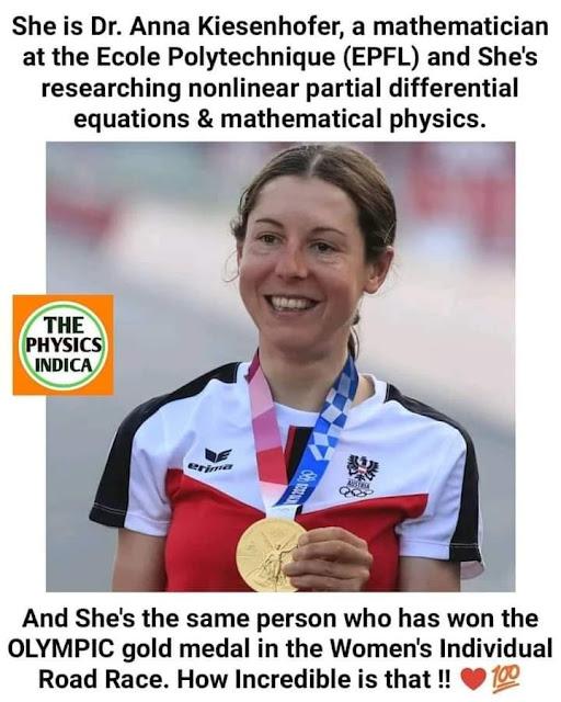 Anna Kiesenhofer mathematician and olympian