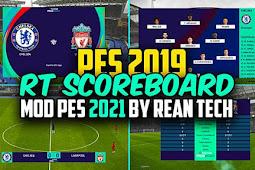 RT Scoreboard PES 2021 Mod V2 For - PES 2020