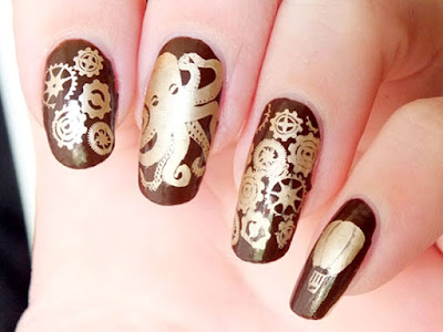 Art of the Nail Octopus