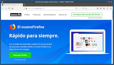 El nuevo Firefox