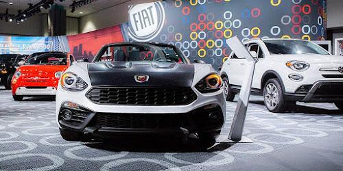 2019 Fiat Lineup at 2018 LA Auto Show