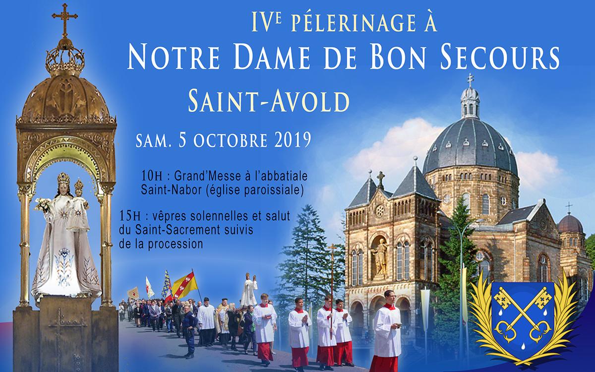 Pélerinage à Notre Dame de Bon Secours - Saint-Avold - sam. 5 octobre Pelesaintavold2019
