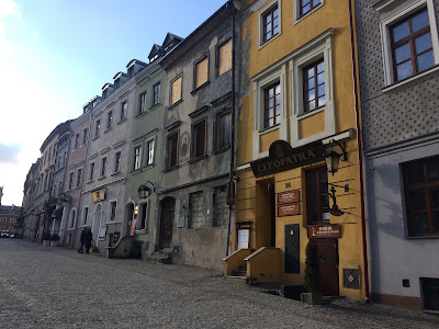 Buildings in Lublin Old Town