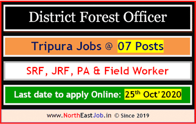 District Forest Officer, Sepahijala