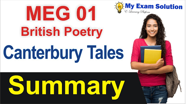british poetry, canterbury tales british poetry, canterbury tales free notes