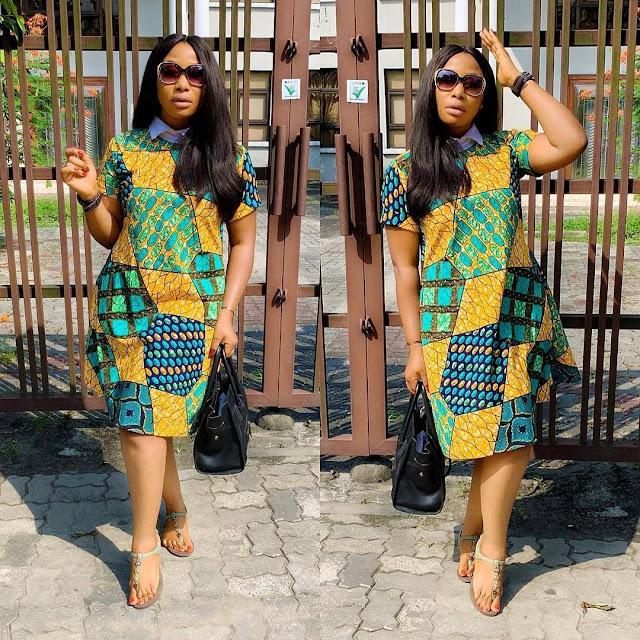 The 20 Best of Owambe Aso Ebi Dresses 49