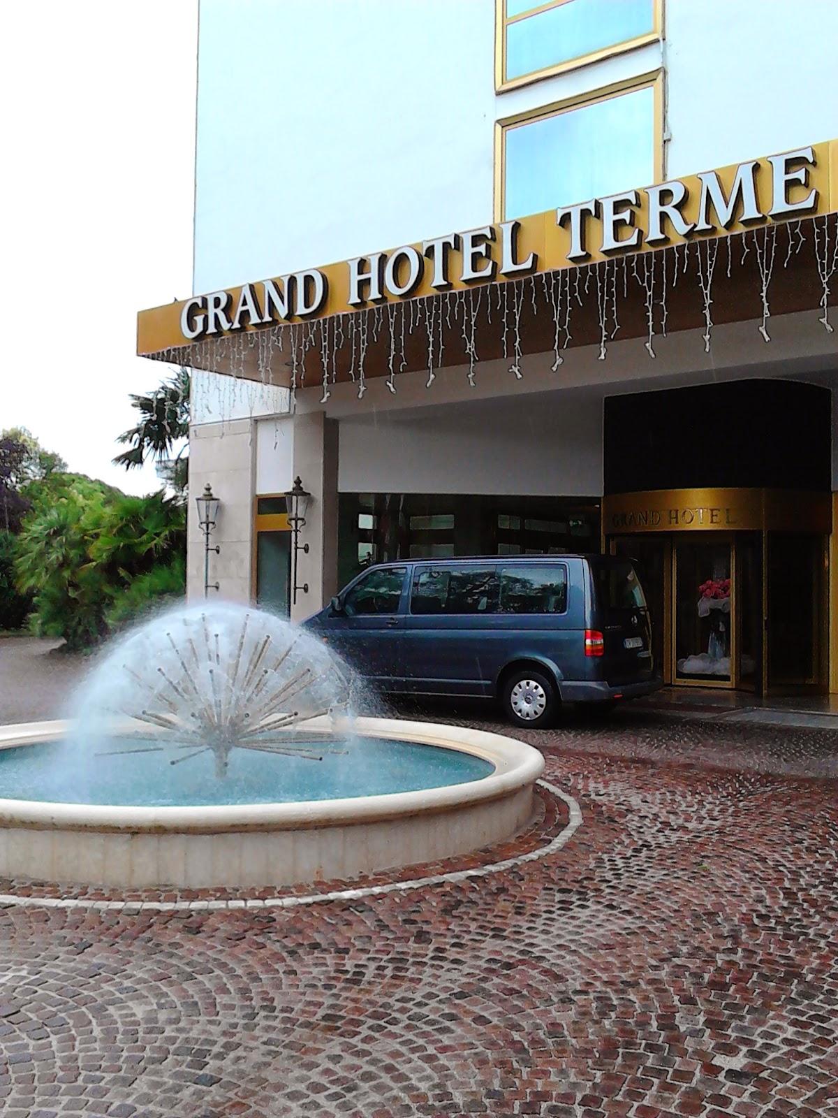 Spa Montegrotto Terme Sauna Finlandese: Toscana In Cartellone: Al Grand Hotel Terme Di Montegrotto