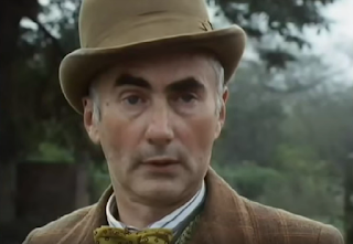 Actor John Tordoff as Thomas Knapp in the period detective series Campion