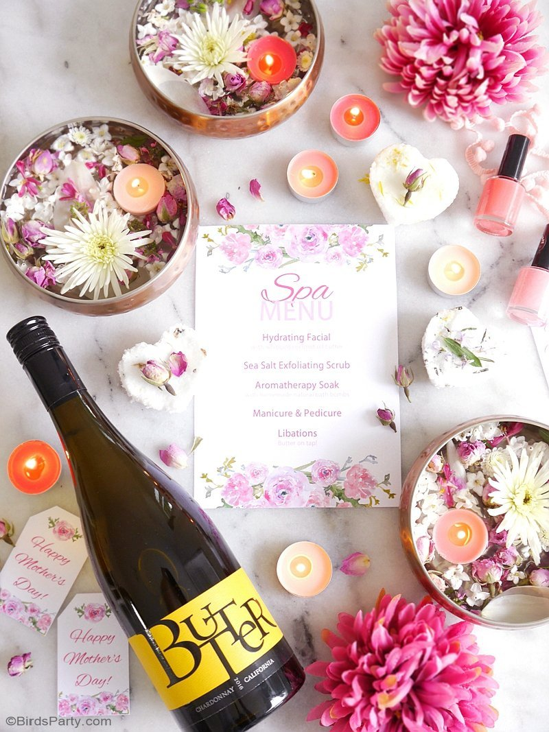 a relaxing home spa party for mother s day party ideas party