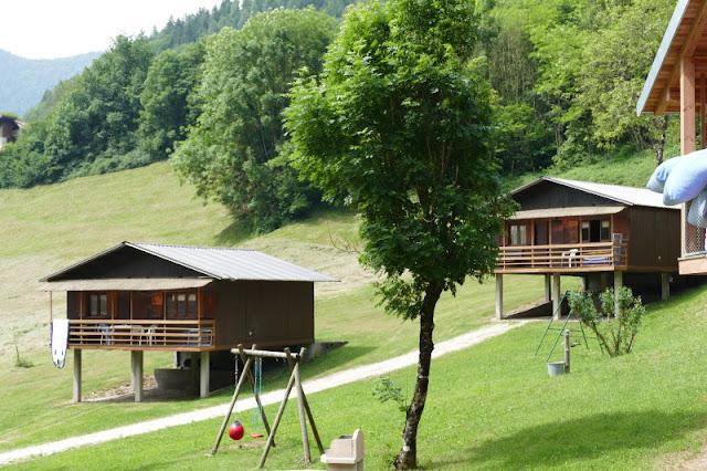 villaggio val molini bungalow con piscina trentino