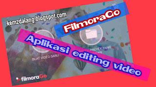 Aplikasi Edit Video FilmoraGo No Watermark