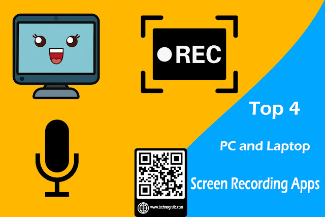 Top 4 PC and Laptop Screen Recording Apps - Free