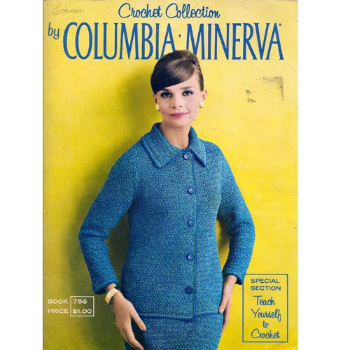 Book 756, Columbia Minerva Crochet Collection