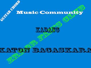 Chord Gitar Katon Bagaskara | Kadang