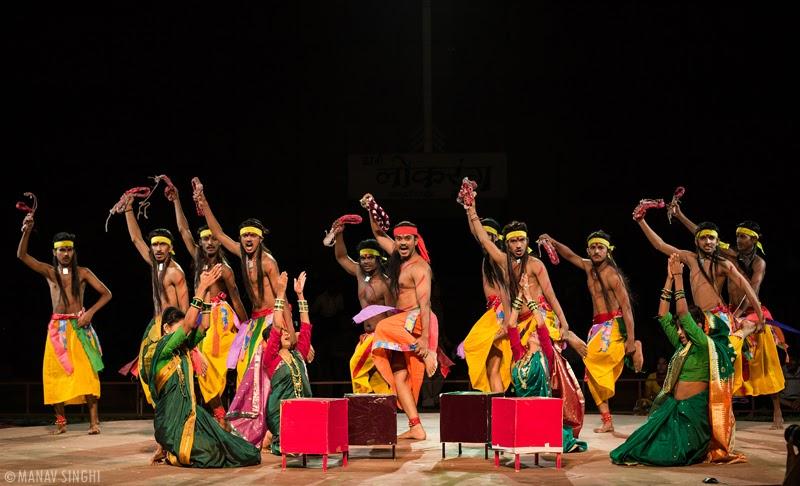 Potraj Folk Dance Maharashtra