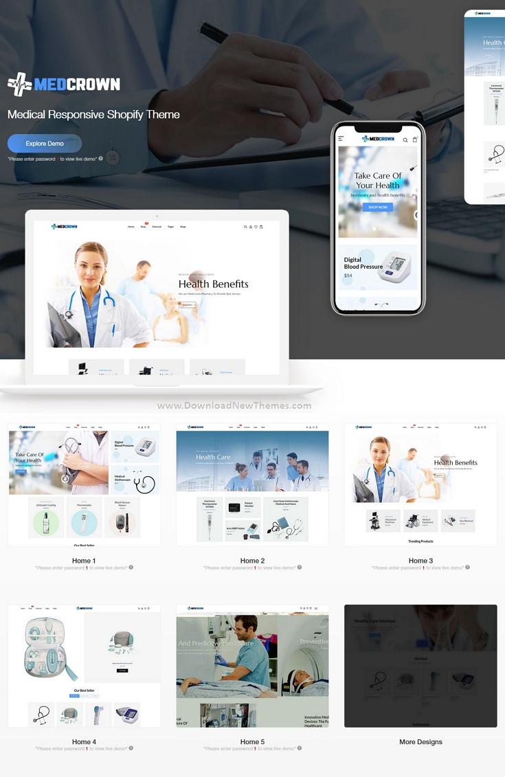 Medical Responsive Shopify Theme