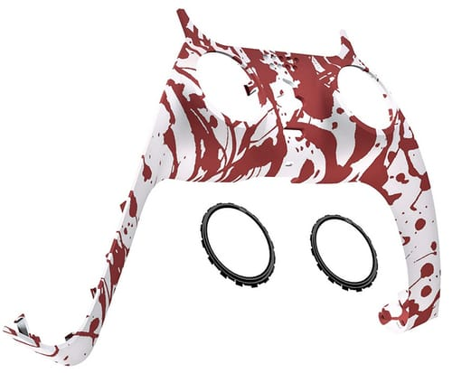 eXtremeRate PS5 Controller Blood Patterned Trim Shell