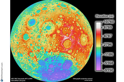 nasa new moon map for future missions