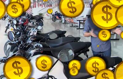 comprar moto a vista juntar dinheiro