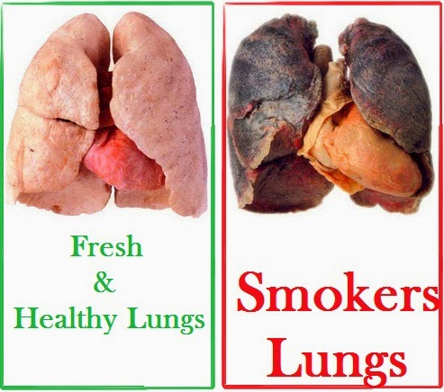 how to clean your lungs from cigarette