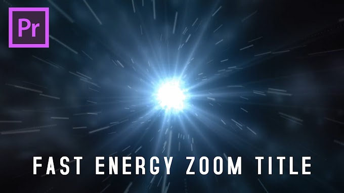 Fast Energy Zoom Title Premiere Pro