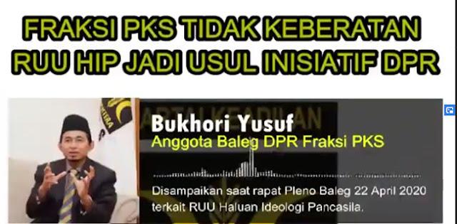 Beredar Rekaman Fraksi PKS Tidak Keberatan Dengan RUU HIP Saat Rapat Baleg