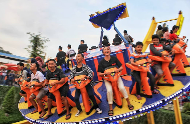 Wahana Saloka Fun Park Semarang