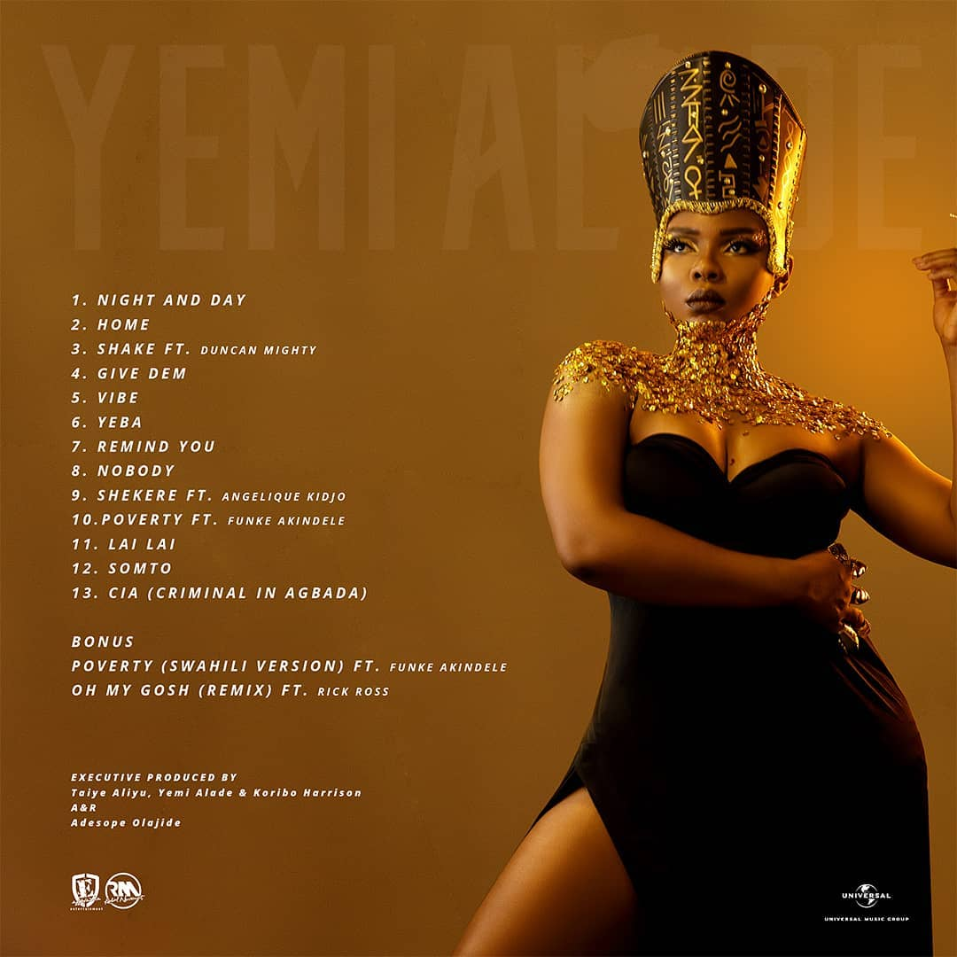 AUDIO | Yemi Alade - Home | Mp3 Download [New Song]