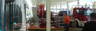 Windmaschine Flughafen München Feuerwehr BMW Landshut