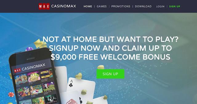 Casinomax Homepage