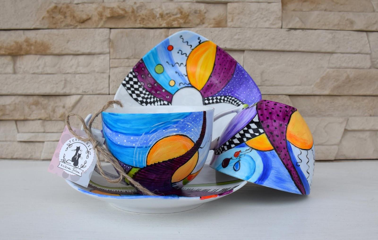 Iść w stronę słońca, trzecie urodziny bloga i wulkan energii na porcelanie