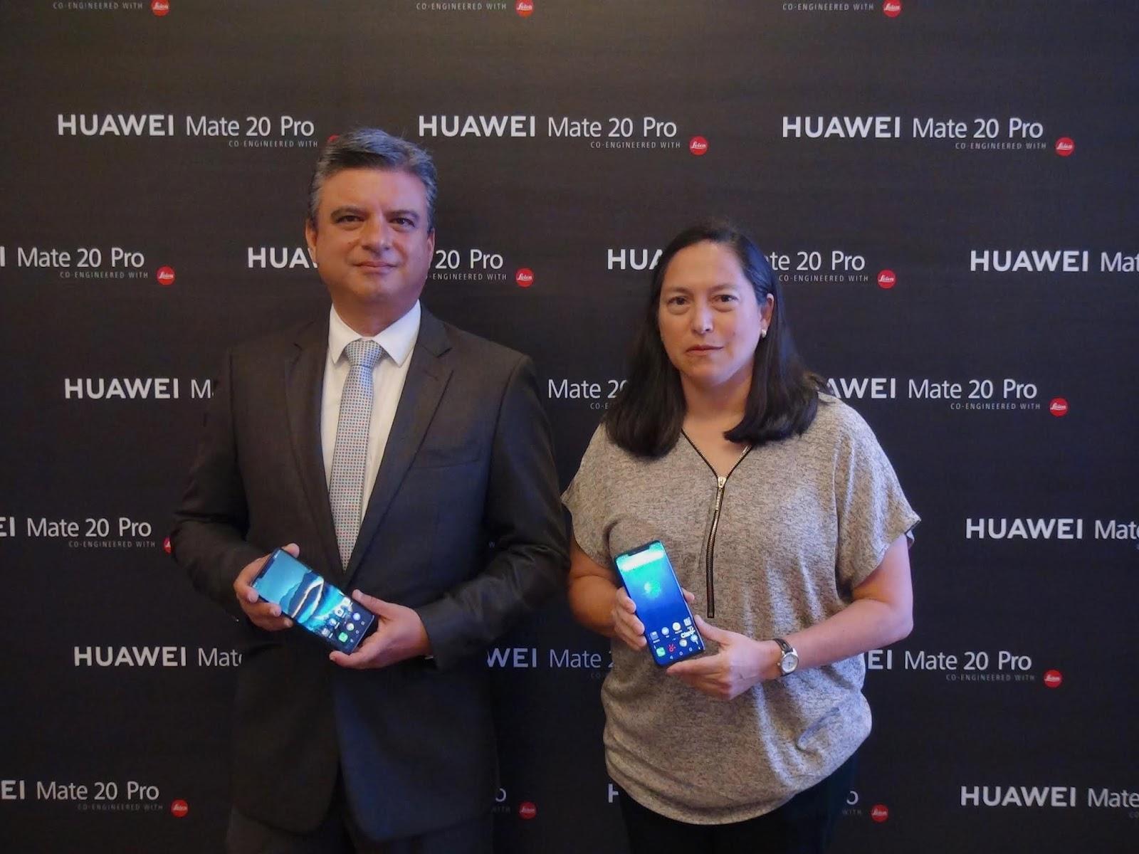 Huawei presenta el HUAWEI Mate 20 Pro en Ecuador