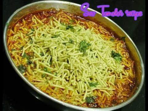 Delicious and Healthy Sev Tamatar recipe