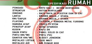 Spesifikasi Rumah Subsidi, DP Hanya 2,5 Juta, Cicilan 900 rb an, Lokasi di Jl. Paya Bakung Diski Medan Binjai Km 14 Deli Serdang