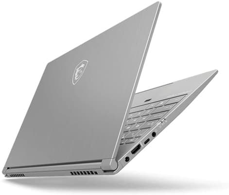 MSI PS42 8M-072ES: portátil Core i7 de 14'', con teclado QWERTY en español, Windows 10 Home y 2 entradas USB-C