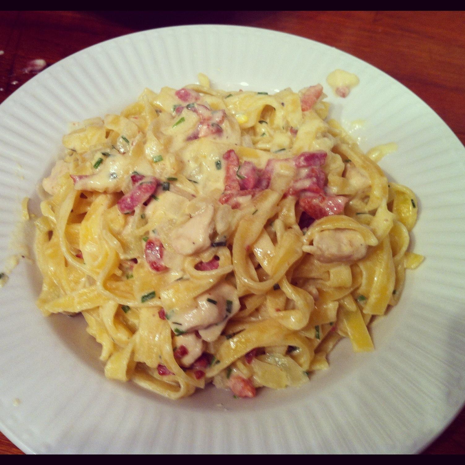 pasta carbonara opskrifter