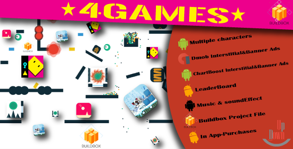 """Download 4BuildBox Games with Admob 