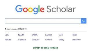 google scholar-perpustakaan online yang dapat diakses secara elektronik