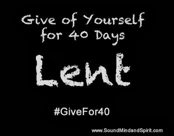 Lent, Givefor40