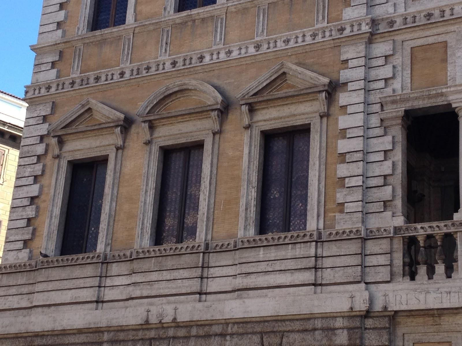 In bici per roma le pi belle finestre di roma9 - Pizzeria le finestre roma ...