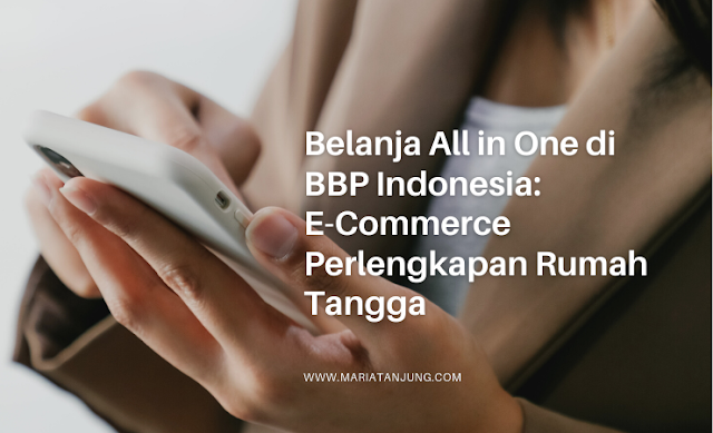 E-Commerce Perlengkapan Rumah Tangga