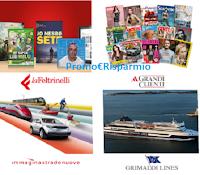 Logo Generali Italia '' Una Vita in Più'' : gratis per te sconti Alce Nero, LaFeltrinelli, Yaoox, e molti altri
