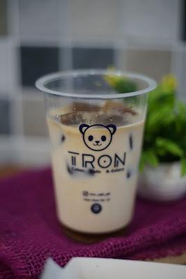Iced CoffeeTron Cyber, Cafe dan Eatery