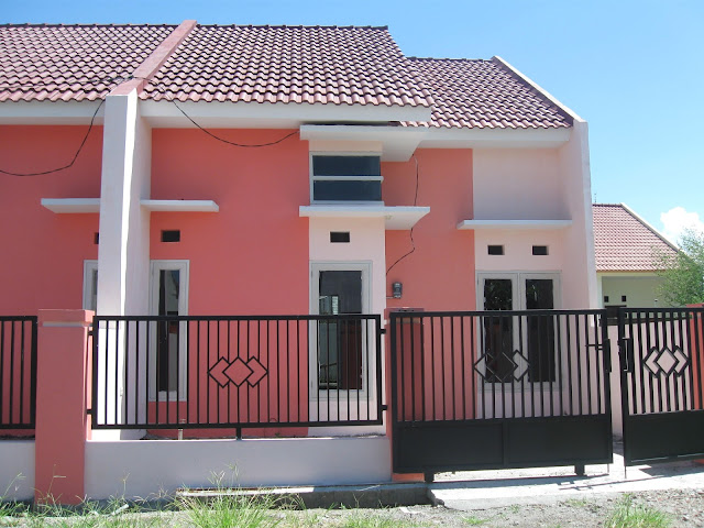 model teras rumah type 36/72